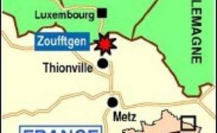 Une collision entre un train de voyageurs et un train de marchandises, qui s'est produite mardi à Zoufftgen (nord de la Moselle), a fait au moins dix morts et des blessés, ont indiqué les pompiers de Metz.