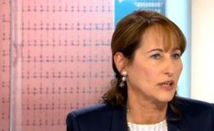 Ségolène Royal sur France 5 le 19 avril 2015.