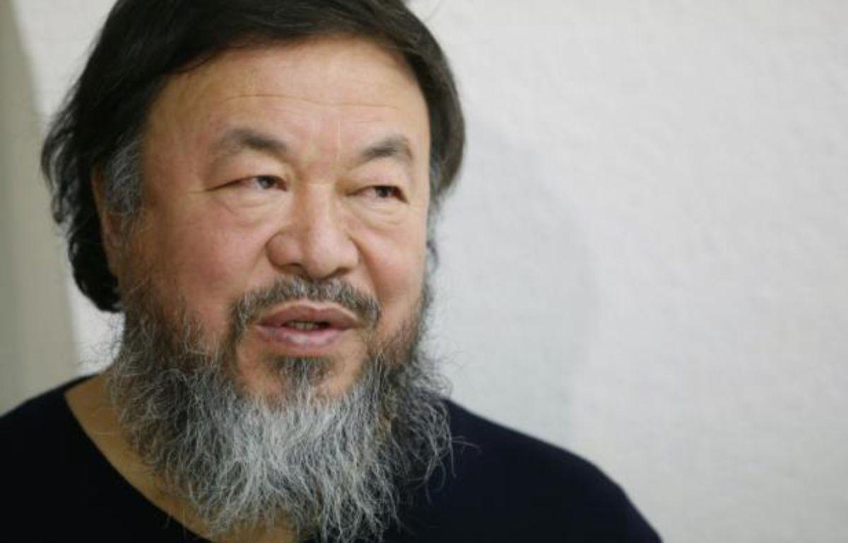 L'artiste chinois Ai Weiwei à Paris, le 13 janvier 2016 – PATRICK KOVARIK AFP