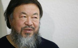 L'artiste chinois Ai Weiwei à Paris, le 13 janvier 2016