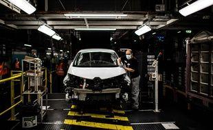 Une usine Renault à Flins-sur-Seine le 6 mai 2020 (photo d'illustration)
