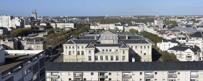Le centre-ville d'Angers.