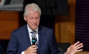 L'ancien président des Etats-Unis Bill Clinton à Miami