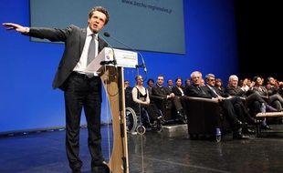 Christophe Béchu, tête de liste UMP en Pays de la Loire aux régionales de 2010.