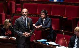 Le Premier ministre, Edouard Philippe, lors des questions au gouvernement, le 9 juin 2020 à l'Assemblée nationale.