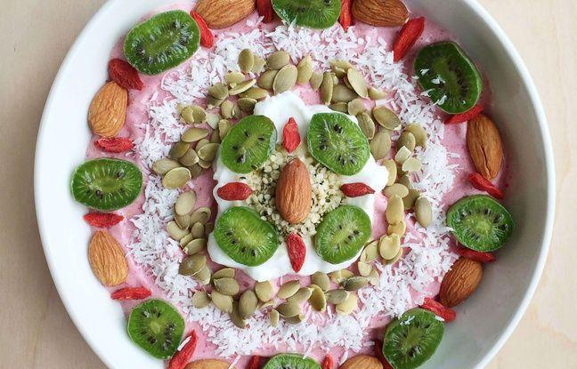 Un exemple de plat végétalien (illustration).