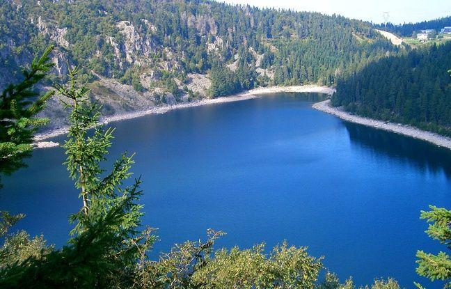 Le Lac Blanc, en Alsace.