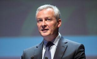 Bruno Le Maire, ministre de l'Economie et des Finances, le 29 mars 2018.