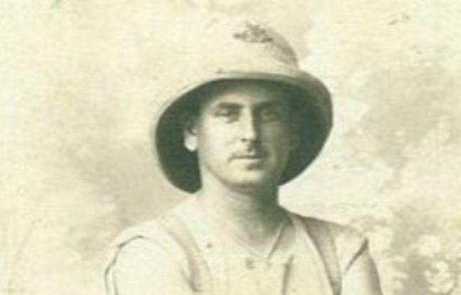 Portrait de Hedley Roy MacBeth, porté disparu lors de la bataille de Bullecourt, le 3 mai 1917.