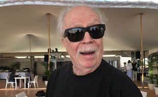 John Carpenter sur la terrasse de la Quinzaine des réalisateurs.