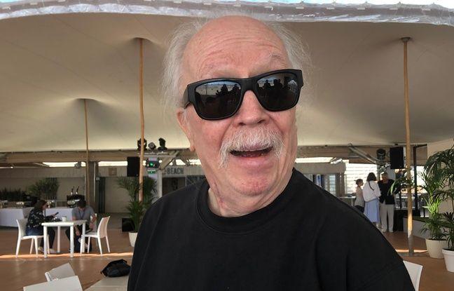 John Carpenter sur la terrasse de la Quinzaine des Réalisateurs