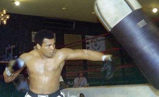 Mohamed Ali, en 1976.