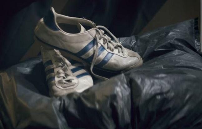 Capture d'écran de la vidéo publiée par un étudiant moldave en Allemagne imaginée pour Adidas.