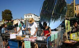 La cuisine solaire mobile.