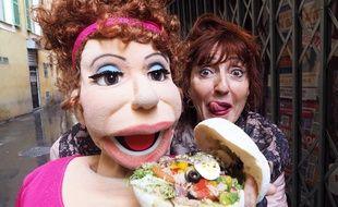 Noëlle Perna fait appel pour la première fois à la marionnette de Mado