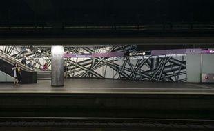 Le métro de Vienne (illustration).