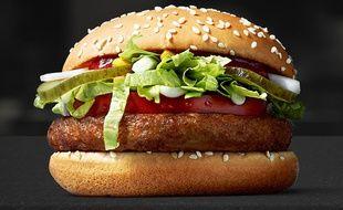 McDonald's teste actuellement le McVegan en Finlande.