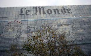 Le siège du journal Le Monde, le 28 novembre 2012 à Paris