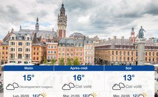 Météo Lille: Prévisions du dimanche 19 mai 2019