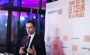 Benoit Hamon, Paris- 22/01/2017. Credit:LEWIS JOLY/SIPA.