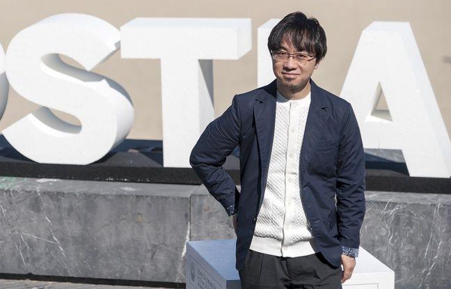 Le réalisateur de films d'animation japonais Makoto Shinkai à San Sebastian, le 24 septembre 2016.