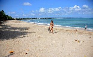 Une des nombreuses plages paradisiaques de Bali, illustration