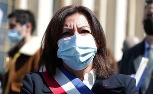 Anne Hidalgo, à Paris le 25 avril 2021.