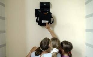 Un défibrillateur installé dans la ville de Montbard.