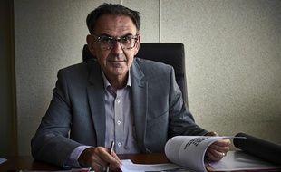Le maire du 4e arrondissement de Lyon et président de la Métropole David Kimelfeld.