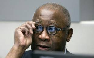 L'ex-président ivoirien Laurent Gbagbo à l'ouverture de son procès devant la CPI à La Haye, le 28 janvier 2016