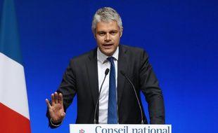 Le président d'Auvergne-Rhône-Alpes Laurent Wauquiez, le 2 juillet 2016 à Paris