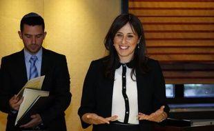 La ministre israélienne adjointe des Affaires étrangères, Tzipi Hotovely, le 20 mai 2015 à Jérusalem