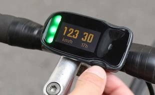 Haïku, le GPS connecté pour deux-roues.