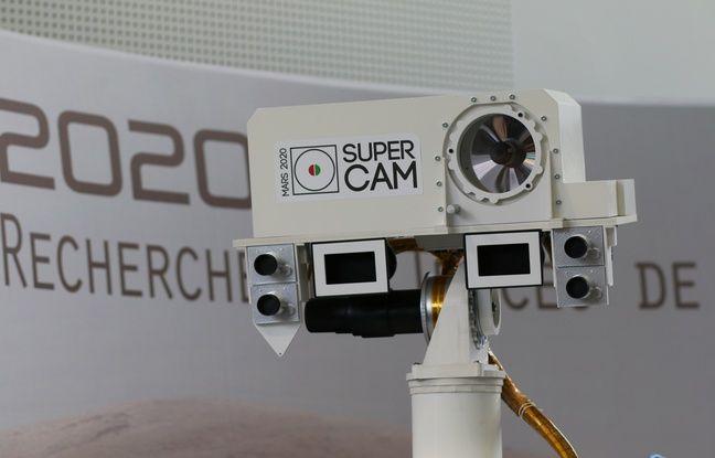 La SuperCam qui équipera le RoverMars2020, a été développée en partie au Laboratoire d'astrophysique de Bordeaux.