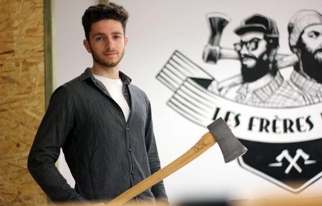 Grégoire Tron a ouvert une salle de lancer de haches à Rennes sous le nom Les Frères Jacks. Avec son frère, il avait déjà testé le concept à Bordeaux.