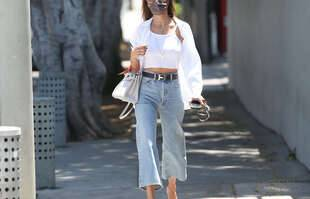 Alessandra Ambrosio, le 18 mai, à Los Angeles.