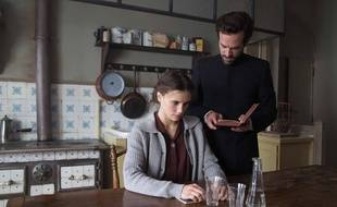 Marina Vacth et Romain Duris dans La Confession de Nicolas Boukhrief