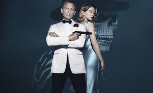 """Daniel Craig et Léa Seydoux à l'affiche de """"Spectre"""""""