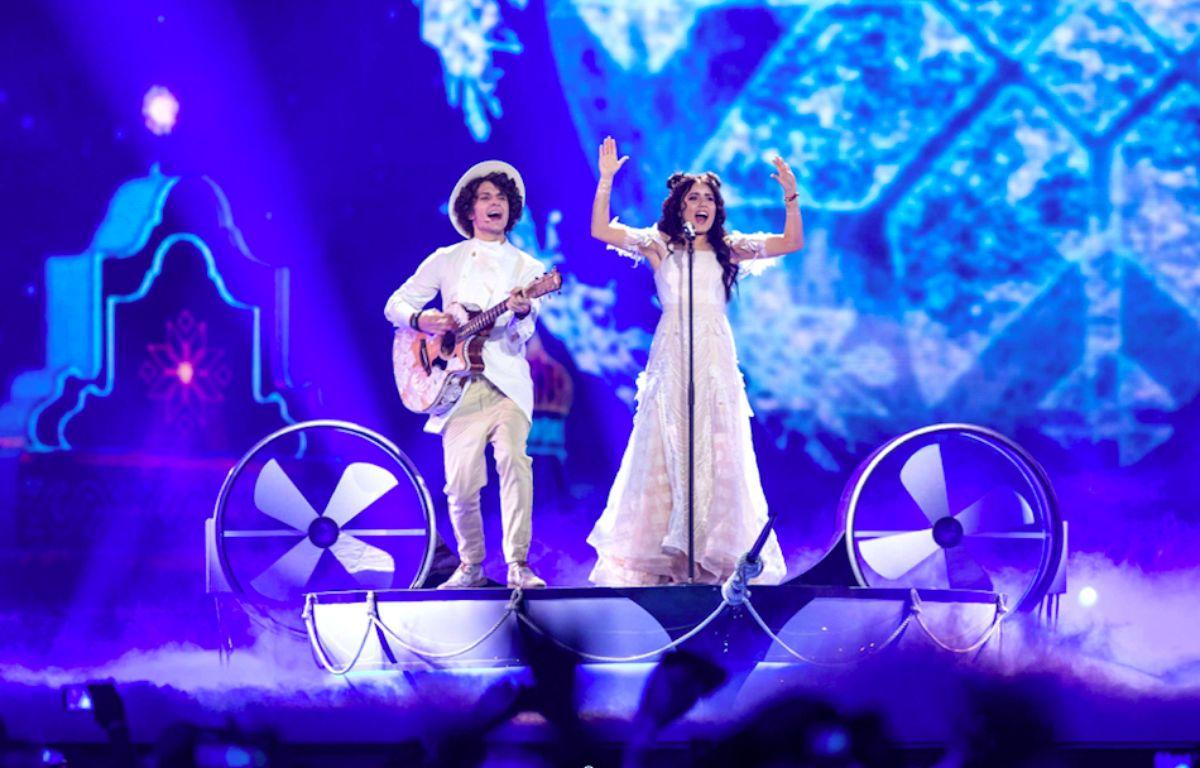 Le groupe Naviband représente la Biélorussie à l'Eurovision 2017. – Rolf Klatt/Shutterstock/SIPA