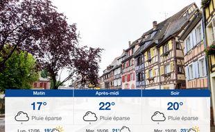 Météo Colmar: Prévisions du dimanche 16 juin 2019