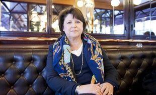 Martine Aubry, le 15 avril 2012.