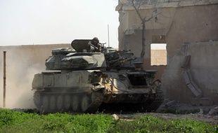 Les forces du régime syrien ont effectué samedi 10 mars 2018 une percée majeure dans la partie rebelle de la Ghouta orientale, isolant la principale ville Douma.