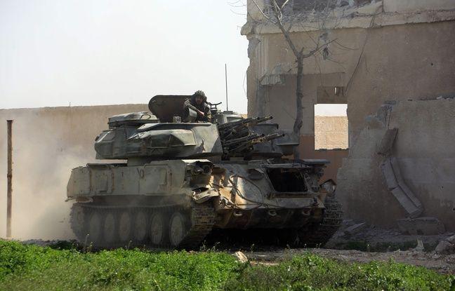 nouvel ordre mondial | Syrie: Les forces du régime isolent la grande ville de Douma du reste de la Ghouta orientale