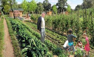A terme, la vallée de la Siagne accueillera des agriculteurs mais aussi des potagers partagés.