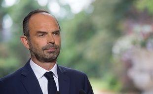 Edouard Philippe, Premier ministre, le 31 août 2017 à Paris