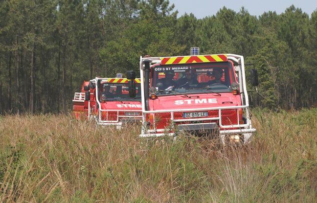 Feux de forêt: La Gironde et le Lot-et-Garonne repassent en vigilance orange ce mercredi