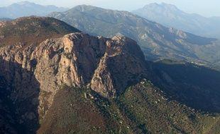 Mont Gozzi en Corse (image d'illustration).