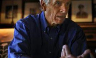 Le milliardaire Douglas Tompkins durant une interview à l'AFP dans la ville d'Ibera, en Argentine, le 5 novembre 2009