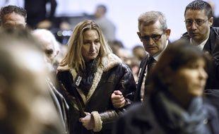 L'épouse du policier Franck Brinsolaro, qui a perdu la vie dans l'attentat contre Charlie Hebdo