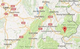 Le jeune homme a fait une chute mortelle au cours d'une randonnée en Maurienne.